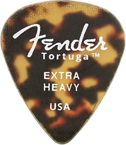 Fender Tortuga 351 Extra Heavy Guitar Pick (6)