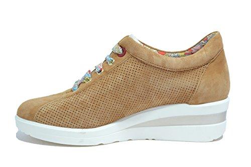 Scarpe Zeppa MELLUSO Walk Cuoio R20110 Sneakers Donna Tt8wqx58F