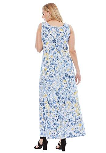1193bc9e14 Jessica London Women s Plus Size Denim Maxi Dress - Buy Online in ...