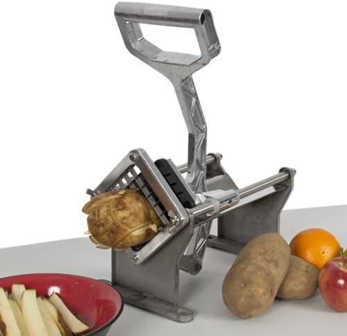 Best Choice Products Potato French Fry Fruit Vegetable Cutter Slicer Commercial Quality w/ 4 Blades
