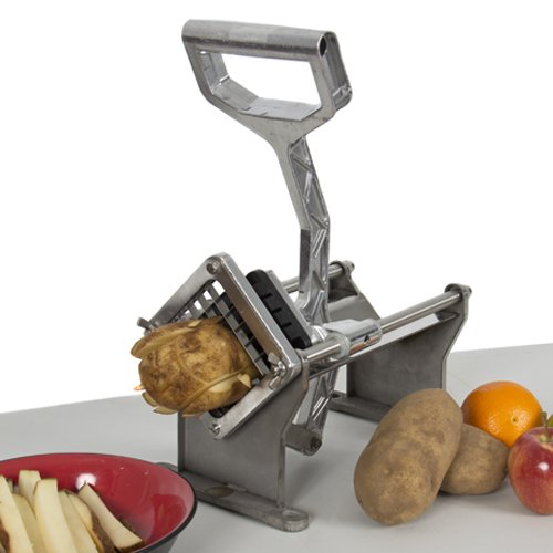 Best Choice Products Potato French Fry Fruit Vegetable Cutter Slicer Commercial Quality w/ 4 Blades by Best Choice Products