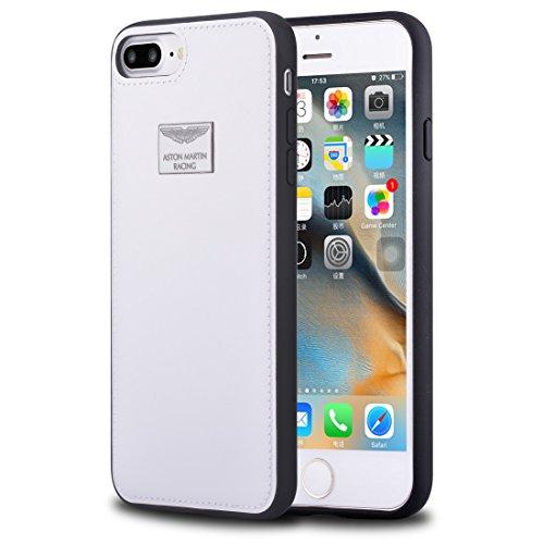 "Aston Martin Racing Back Case Luxury white iPhone 7 Plus 5,5"""