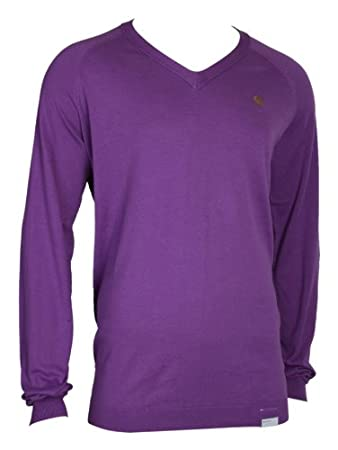 Adidas Originals Herren Pullover Pullis Baumwollpullover Strick Oberteile  Top Baumwollpullis Baumwolle Männer Lila Royal purple L c60bff101c