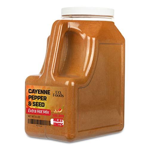 Cayenne Pepper & Seeds Extra Hot Mix | 100,000 Heat Units 6 LB
