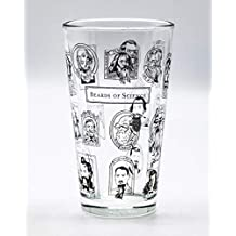 Cognitive Surplus Heroes of Science - Beards of Science Beer Pint Glass