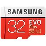 SAMSUNG 32GB EVO Plus Grade 1, CLASS-10 (MB-MC32GA/IN)