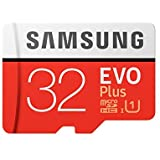 Samsung EVO Plus Class 10 Micro SDHC with Adapter, 32GB (MB-MC32GA)