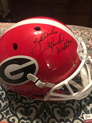 Herschel Walker Autographed Signed Memorabilia Full Size Schutt Replica Helmet Georgia Bulldogs - JSA Authentic