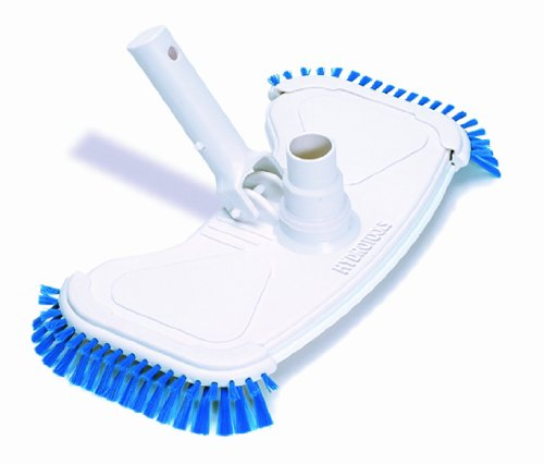 HydroTools by Swimline Weighted Butterfly Style Pool Vacuum Head with Side Brushes