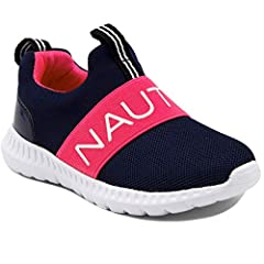 Nautica Girl Kids Fashion Jogger Sneakers Are The Perfect Shoes For All Day Running Or Just To Chill. A High Fashion Look With All The Comfort. Founded in 1983, Nautica has evolved from a collection of men's outerwear to a leading global life...