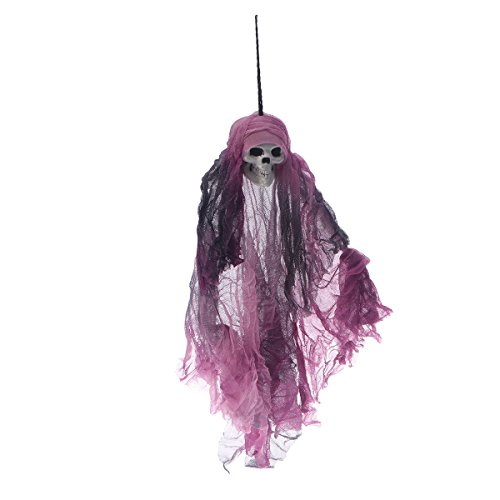 Hanging Ghost Skull Doll Haunted House Cosplay Gothic Party Prop Decoration UK