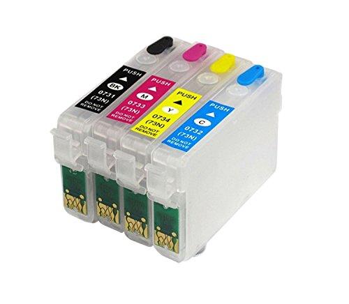 AC cartridge 73N Refillable Empty Cartridges for Epson Printers