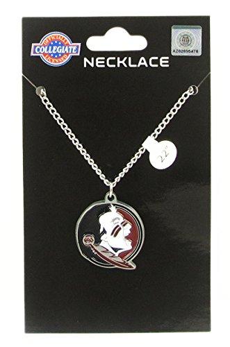 Florida State Seminoles Logo Pendant Chain Necklace - NCAA College Athletics Fan Shop Sports Team Merchandise