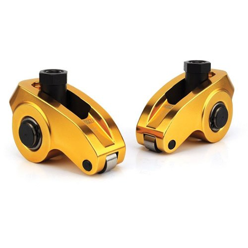 Roller Rocker Set - COMP Cams 19002-8 Ultra-Gold Aluminum Roller Rocker Arm with 1.6 Ratio and 3/8