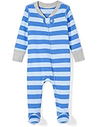 Boys' Organic Footed Zip-Front Sleep and Play