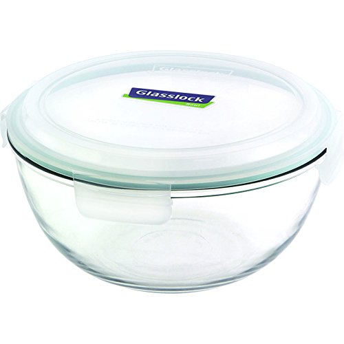 Glasslock Mixing Bowl, 2-Quart (Glasslock Food Storage Container Set 20 Piece)