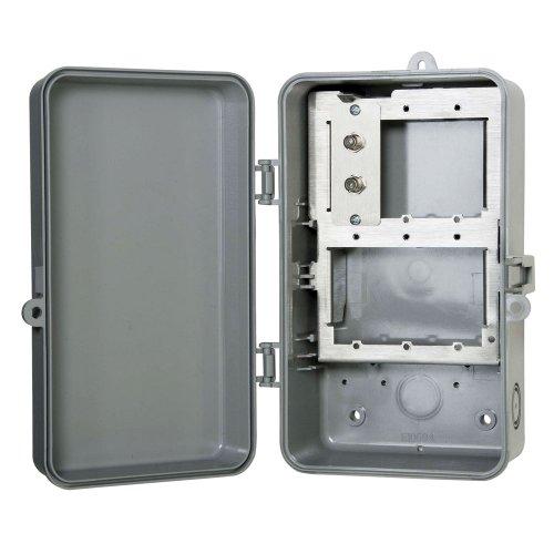 Coaxial Surge Protector F Connector (Intermatic IG1C3R 1 Line Outdoor Coax Cable Protector Plastic Enclosure)