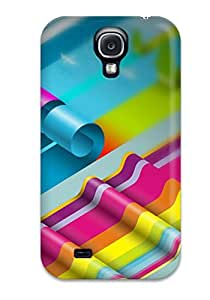 Viktoria Metzner's Shop Hot 3933634K98684092 Colorful Paper Roll Feeling Galaxy S4 On Your Style Birthday Gift Cover Case