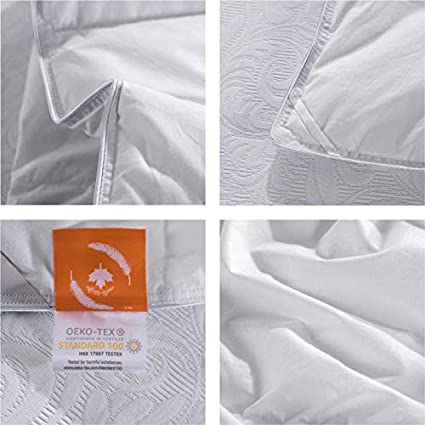Maple Down Comforter Twin Size Duvet Insert Down Alternative Comforter Quilted with Corner Tabs for All Season Soft /& Breathable Brushed Microfiber Machine Washable White,68/'/' * 90/'/'