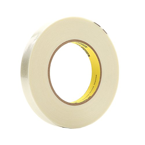 897 Filament Tape - Scotch 897 Filament Tape, 24 mm Width, 55 m Length, Clear (Pack of 2)