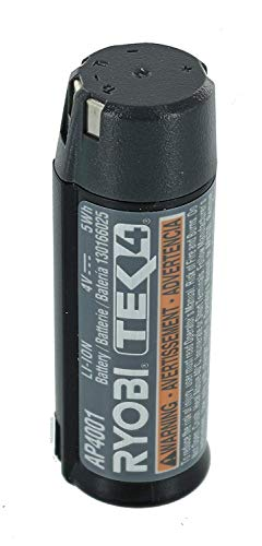 (Ryobi AP4001 Genuine OEM Tek4e 4 Volt Compact Lithium Ion Rechargeable Battery Pack (Charger Not Included, Battery Only))