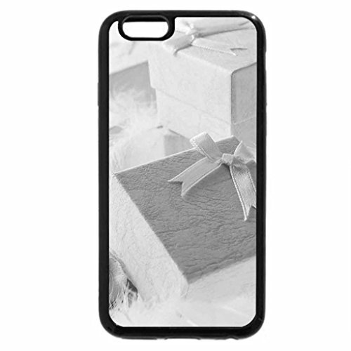 iPhone 6S Plus Case, iPhone 6 Plus Case (Black & White) - Gifts with Rose