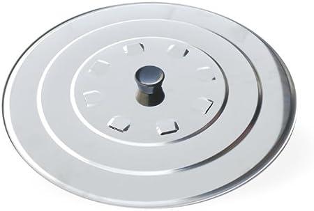 Metaltex Couvercle en Acier Inoxydable 24/cm
