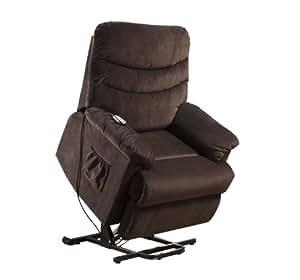 Amazon Com Furniture Of America Venturi Bella Fabric Recliner With Stand Assist Power