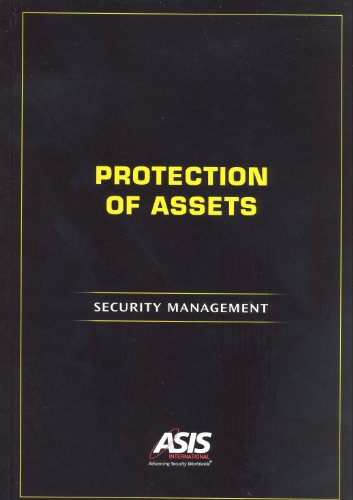 Protection of Assets: Security Management Pdf