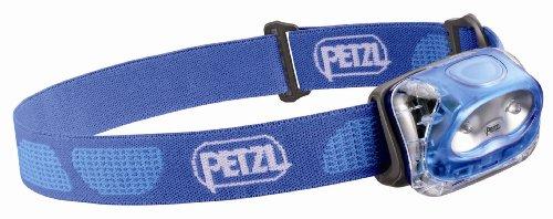 Petzl E91 PE Tikkina 2 Headlamp, Electric Blue, Outdoor Stuffs