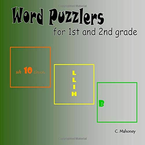 Download Word Puzzlers for 1st and 2nd graders PDF