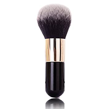 Thinkmax Round Head Large Makeup Brush Cosmetic Brushes Loose Powder Blusher Foundation Tools