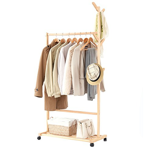 Amazon.com: MS perchero de Creative percha de ropa piso ...
