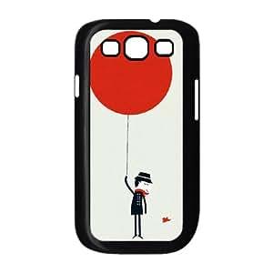 ALICASE Diy Back Case Balloon For Samsung Galaxy S3 i9300 [Pattern-3]