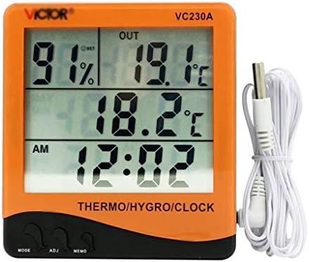 keine Marke> Temperatura Digital Medidor de Humedad de Laboratorio ...