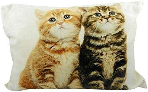 Unbekannt de cojín Gatos Par de 35 cm x 50 cm