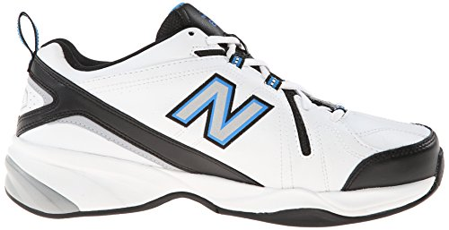 New Balance Mens MX608V4 Training Shoe White/Royal