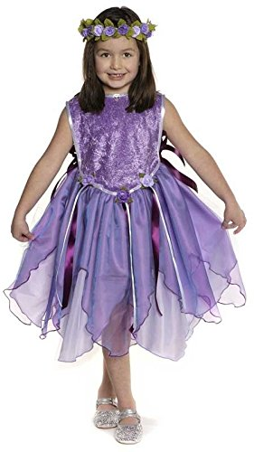 Creative Education Forest Fairy Tunic Costume, Lilac,
