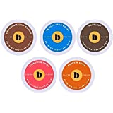 96 Count k cup Flavored Coffee Variety Pack, Single-Serve Pods for Keurig and Compatible Brewers by Beantown Roasters