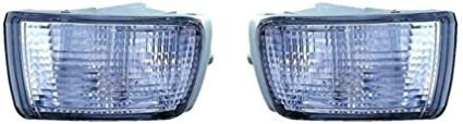 For 2003 2004 2005 TOYOTA 4RUNNER Front Signal//Corner Light Pair Driver and Passenger Side W//Bulbs Replaces TO2532112 TO2533112 CarLights360