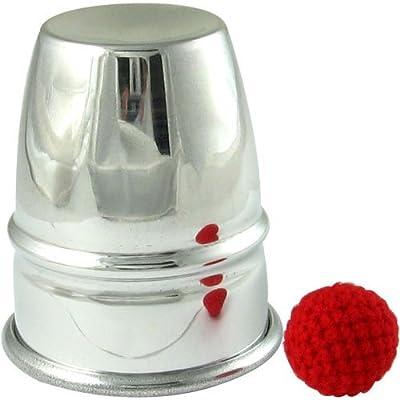 Chop Cup Aluminum: Toys & Games