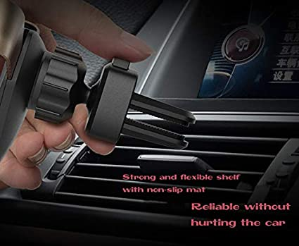 Black Cell Phone Holder,TriPro Phone Holder for Car Strong Magnetic and Small Car Phone Mount