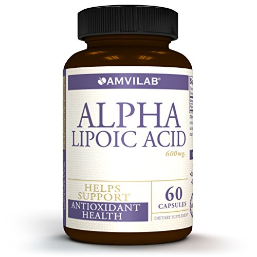 Pure Non GMO Alpha Lipoic Acid 600mg Supports Healthy Blood Sugar, Weight Management, Nerve Health, Improves Tingling Feet and Regenerate Antioxidants. Also Known as Thioctic Acid 2 Month Supply