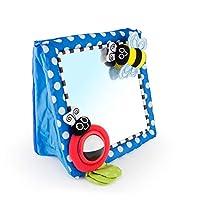 Sassy Tummy Time Floor Mirror | Juguete de bebé para el desarrollo | Esencial del recién nacido para el tiempo boca abajo | Gran regalo de ducha