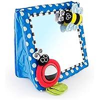 Sassy Floor Mirror, Blue