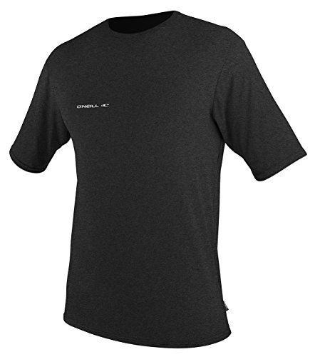 O'Neill  Men's Hybrid UPF 50+ Short Sleeve Sun Shirt, Black,XX-Large - Hybrid Diva