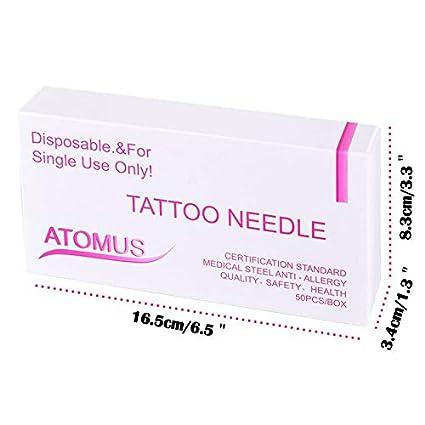 Aguja para Tatuaje de 3 Puntas Agujas de Tatuaje 3RS Premium para ...
