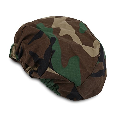 (VGEBY Tactical Helmet Cover, Outdoor Camouflage Paintball Hunting Gear for M88 Helmets (Jungle Camouflage))