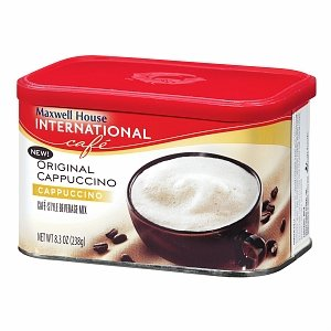 Maxwell House International Cafe Style Beverage Mix, Original Cappuccino 8.3 oz PACK OF 2