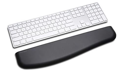 Kensington ErgoSoft Wrist Rest for Slim Keyboards, Black (K52800WW)